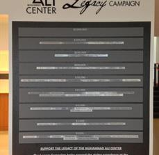 Muhammad Ali Center Legacy Wall