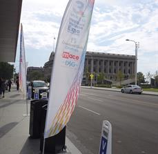 Expo Banner Flag