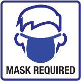 COVID PKG MASK REQUIRED6x6