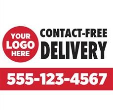 Contact Free Delivery Magnet