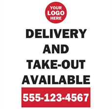 A-Frame Delivery & Take Out