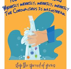 Song Germ Prevention Poster