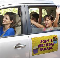Happy Birthday Car Magnet