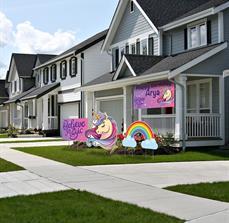 Unicorns Yard Signage