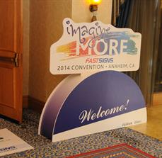 Convention Welcome Signs