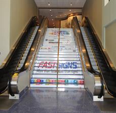 Stair decals