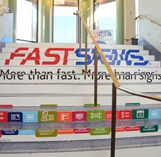 Trade Show Stair Graphics