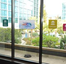 Corporate Event Window Graphics