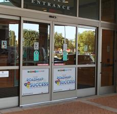 Event Center Door Graphics
