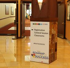 Conference Directional Signage