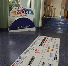 Sponsor Floor Graphics