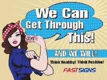 18x24 Rosie the Riveter yard sign-min