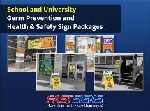 Education Germ Prevention Guide by FASTSIGNS