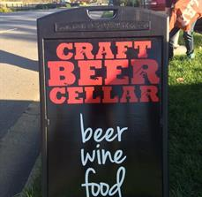 Craft Beer Cellar A Frame