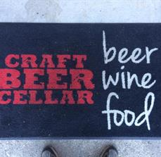 Craft Beer Cellar Floor Mat