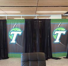 Tulane University Window Banners