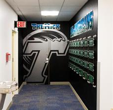 Tulane University Wall Graphics and Signs