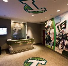 Athletic Wall, Floor, and Ceiling Graphics