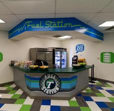 Tulane University Wall and Counter Graphics