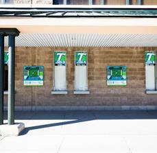 Tulane University Window Graphics And Wall Signs