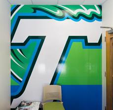 Tulane University Wall Graphics