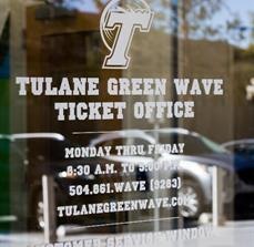 Tulane University Window Graphics