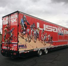 USA BMX Vehicle Graphics