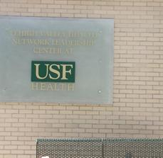 USF Health Building Sign