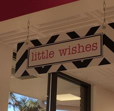 Wish Gifts Hanging Building Sign