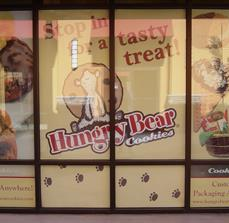 Bakery store front decals