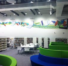 Library wall decals