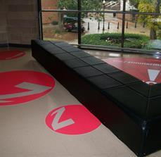 Waiting Area Floor Graphics