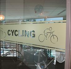 Cycling Window Graphics
