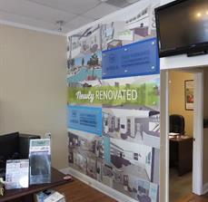 Aqua Properties Wall Graphics