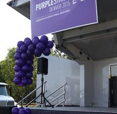 Pancreatic Cancer Action Network Outdoor Banner