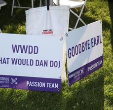 Pancreatic Cancer Action Network Yard Signs