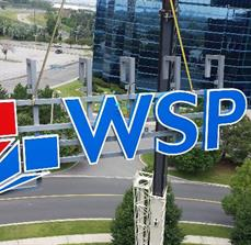 WSP Building Wall Sign