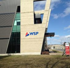 WSP Building Lettering