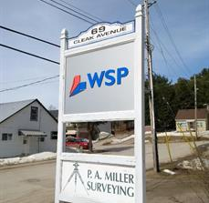 WSP Site Sign