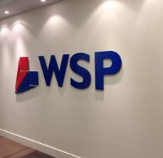 WSP Dimensional Wall Lettering