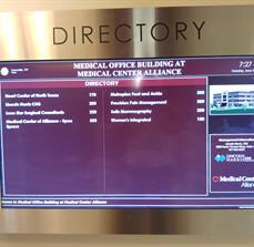 Medical Center Digital Display