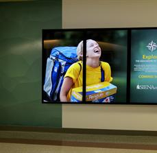 College Digital Signage