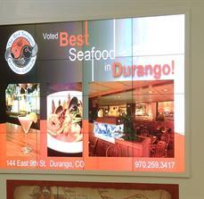 Restaurant Digital Display Board