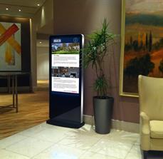 Hotel Digital Kiosk