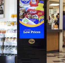 Grocery Digital Kiosk