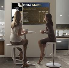Coffee Shop Digital Menu Board