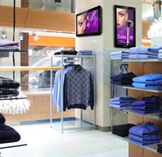 Clothing Store Digital Signage
