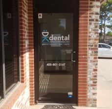 DK Dental Door graphic
