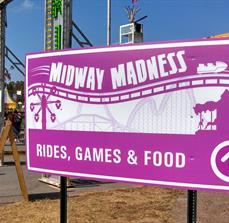 Carnival Wayfinding Signs