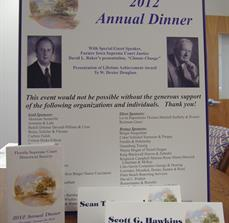 Charity Dinner Displays